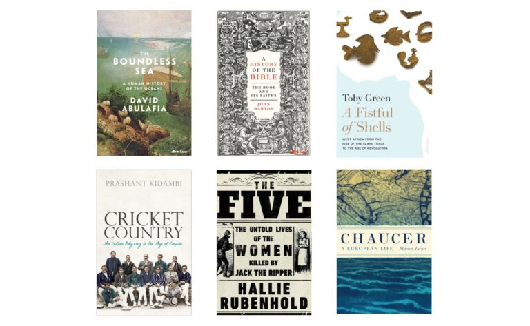 The Wolfson History Prize 2020 shortlist